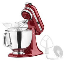 Load image into Gallery viewer, KitchenAid KSM150PSER Artisan Tilt-Head Stand Mixer with Pouring Shield, 5-Quart, Empire Red
