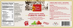 Papa Vince Gourmet Food Gift Set - farm fresh from artisans in Sicily, Italy. Extra Virgin Olive Oil, Balsamic Vinegar, Busiate Pasta, Tomato Sauce, Trapani Sea Salt, Orange & Lemon Marmalade