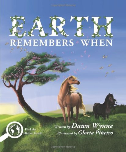 Earth Remembers When; An environmental children's picture book, search and find, fold-out pages