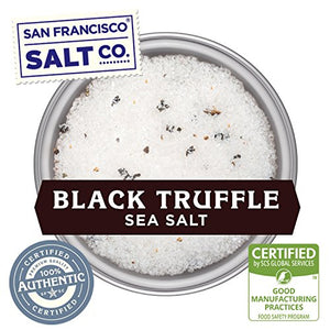 1 lb. Bulk Bag - Authentic Italian Black Truffle Salt