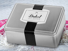Load image into Gallery viewer, Dulcet Original Classic Mini Black and Whites Cookie Gift Tin, Gourmet Food Gift, Cookie Basket, Incudes 1 ½ IB of fresh cookies, for a great gift idea!