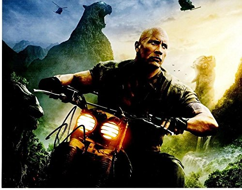 Dwayne Johnson Signed - Autographed Jumanji: Welcome to the Jungle 11x14 inch Photo - Guaranteed to pass or JSA - The Rock - PSA/DNA Certified