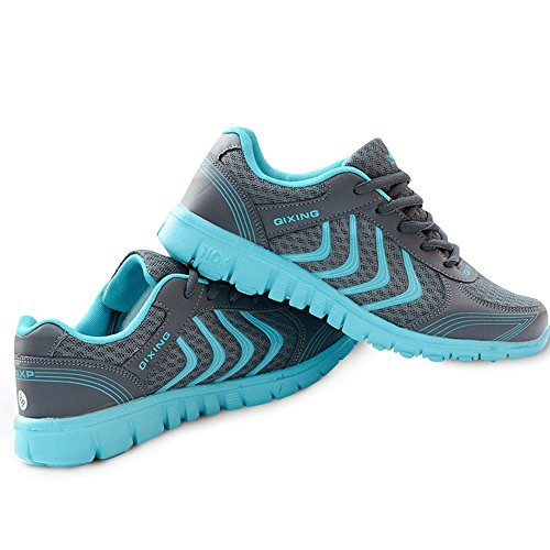 Fashion Brand Best Show Women's Mesh Breathable Light Weight Running Shoes (7 B(M) US, Dark Gray)