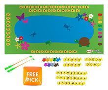 Load image into Gallery viewer, Teach My Yoga Mat Set- Fish & Learn Toy