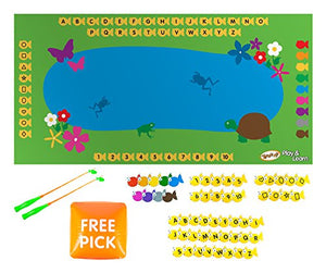 Teach My Yoga Mat Set- Fish & Learn Toy