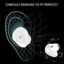 Load image into Gallery viewer, OHNICE Wireless Bluetooth Earbuds, Headphones- with Dual Speakers- Spots Latest Bluetooth 5.0 Technology, 7-8 Hours Play Time, Delivers Crisp 3D Stereo Sound for iPhone Android Phones (White)
