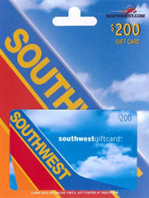 Load image into Gallery viewer, Southwest Airlines Gift Card $200