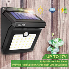 Load image into Gallery viewer, BAXIA TECHNOLOGY BX-SL-101 Solar Lights Outdoor 28 LED Wireless Waterproof Security Solar Motion Sensor Lights, (400LM,4 Packs)