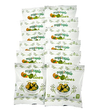 Load image into Gallery viewer, Veggicopia Olives, Tasty Green Pitted Olives, 1.05 Ounce Snack Bags (Pack of 12)
