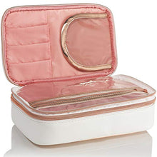 Load image into Gallery viewer, Lily England Makeup Bag Organizer - Rose Gold