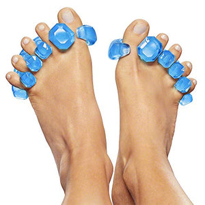 YogaToes GEMS: Gel Toe Stretcher & Separator - Instant Therapeutic Relief For Feet.