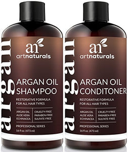 ArtNaturals Organic Moroccan Argan Oil Set