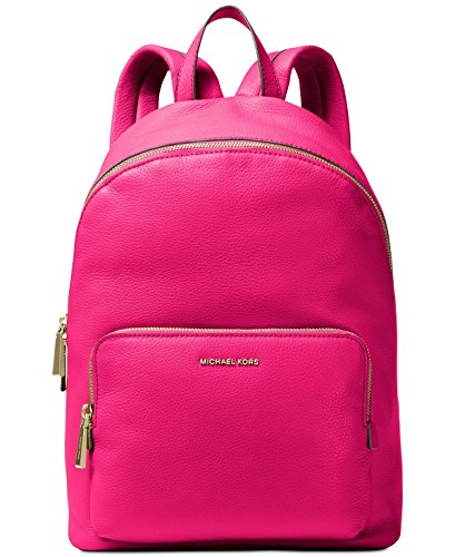 MICHAEL MICHAEL KORS Wythe Large Perforated Leather Backpack (Ultra Pink)