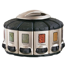 Load image into Gallery viewer, KitchenArt 57010 Select-A-Spice Auto-Measure Carousel Professional Series, Satin
