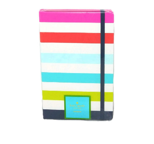 Kate Spade Take Note Large Notebook,Candy Stripe