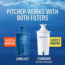 Load image into Gallery viewer, Brita Large 10 Cup Everyday Water Pitcher with Filter - BPA Free - White
