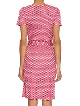 Load image into Gallery viewer, Diane von Furstenberg New Julian Two Wrap Silk Dress in Peace Palm Pink