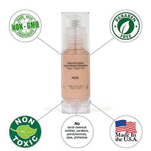 Load image into Gallery viewer, Light Liquid Mineral Foundation, Natural, Organic, Vegan, No Animal Cruelty, Gluten Free