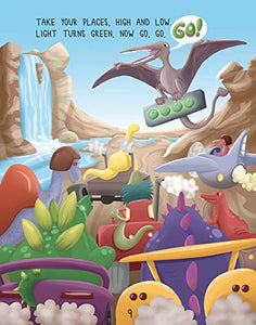 Dinosaur Derby (for Kids who Love Dinosaurs, Racing, Cars, Trains, and STEM Learning. Ages 3 and up)