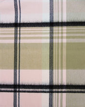 Load image into Gallery viewer, Rosemarie Collections 100% Cashmere Winter Scarf Made In Scotland (Pink and Black Plaid)