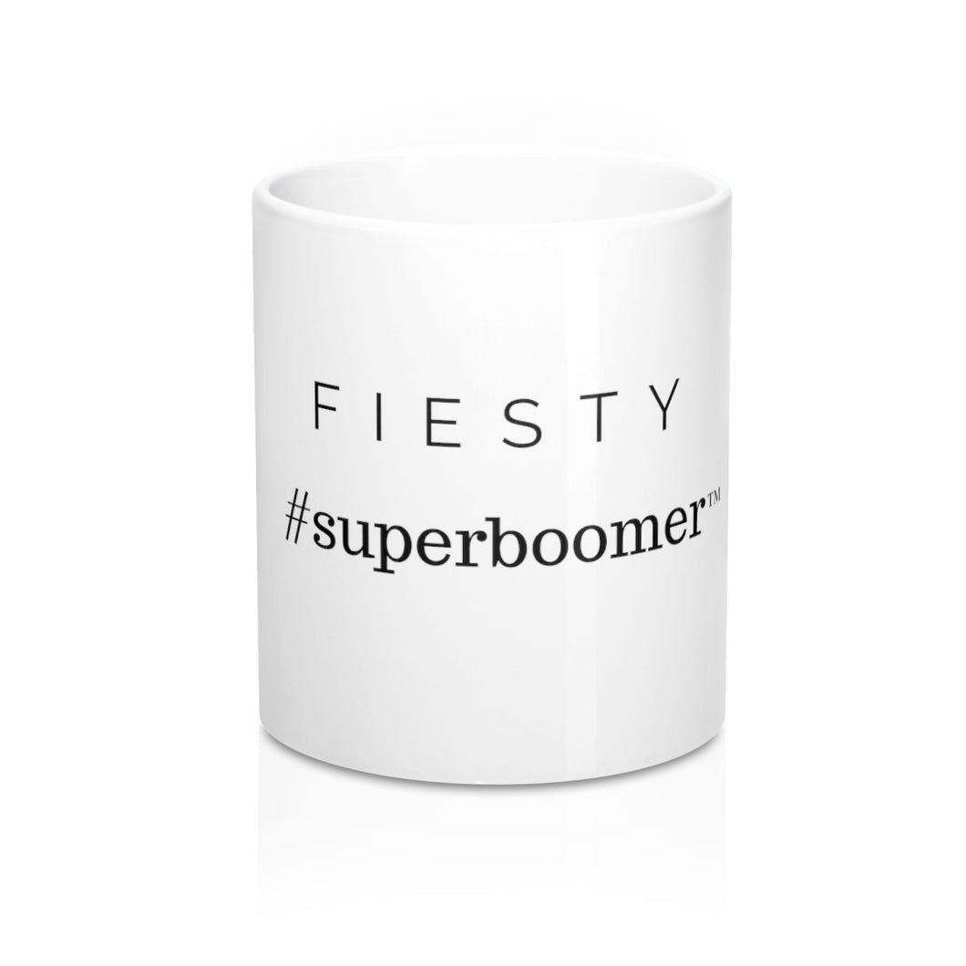 SuperBoomer FIESTY Mug 11oz