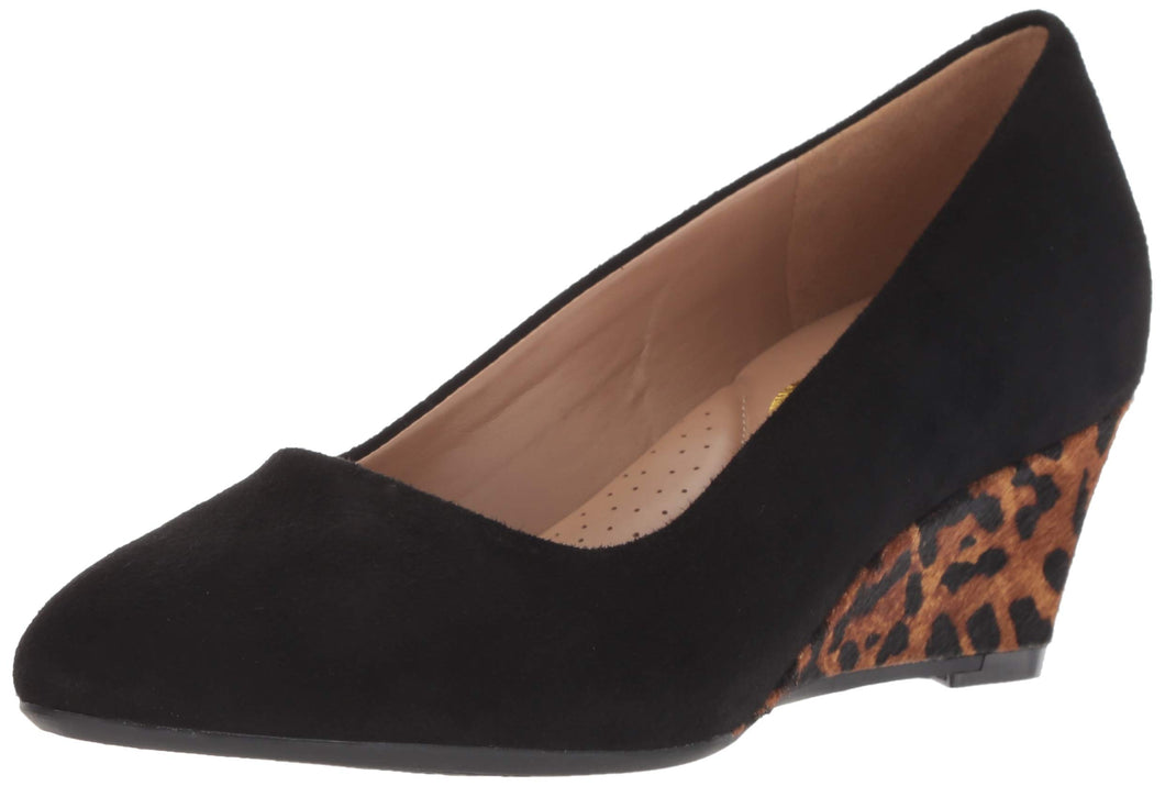 Aerosoles Women's Inner Circle Pump, Leopard Combo, 7 M US
