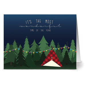 Note Card Cafe Christmas Card Assortment with Envelopes | 72 Pack | Blank Inside, Glossy Finish | Woodland Holiday | Box Set for Holidays, Winter, Gifts, Presents, Secret Santa, Work Parties