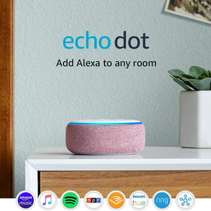 Echo Dot (3rd Gen) - Smart speaker with Alexa - Plum