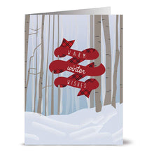 Load image into Gallery viewer, Note Card Cafe Christmas Card Assortment with Envelopes | 72 Pack | Blank Inside, Glossy Finish | Woodland Holiday | Box Set for Holidays, Winter, Gifts, Presents, Secret Santa, Work Parties