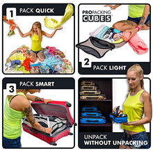 Load image into Gallery viewer, PRO Packing Cubes for Travel - Luggage Organizer Bags, Accessories - Ultralight