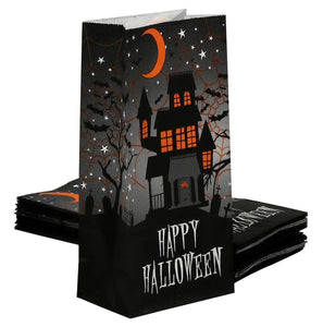 Happy Halloween Paper Treat Bags 40-Count Set by Iconikal