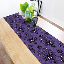 Load image into Gallery viewer, ARTSHOWING Halloween Table Runner Party Supplies Fabric Decorations for Wedding Birthday Baby Shower 18x72inch Haunted Mansion