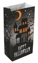 Load image into Gallery viewer, Happy Halloween Paper Treat Bags 40-Count Set by Iconikal