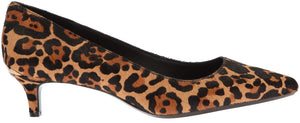 Calvin Klein Women's Gabrianna Pump, Leopard, 8 Medium us
