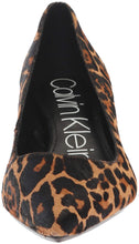 Load image into Gallery viewer, Calvin Klein Women's Gabrianna Pump, Leopard, 8 Medium us