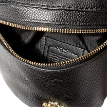 Load image into Gallery viewer, COACH Women's Polished Pebble Belt Bag Gd/Black One Size