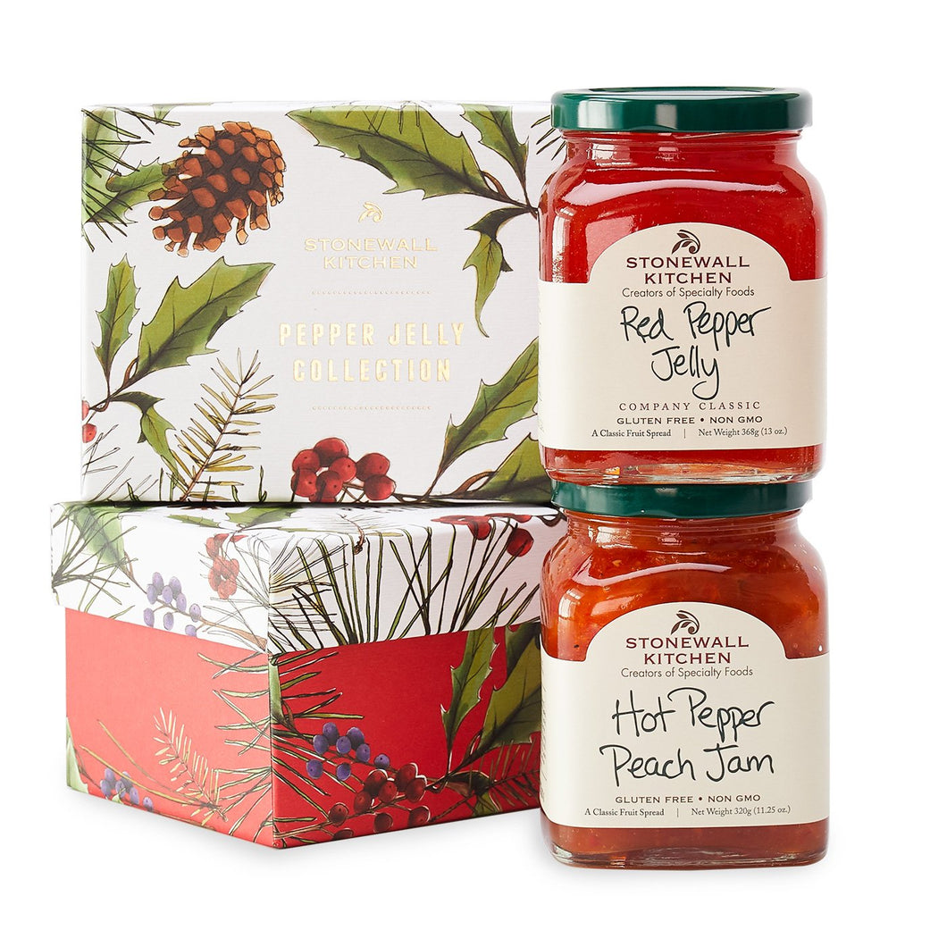 Stonewall Kitchen Holiday 2018 Pepper Jelly Collection