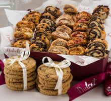 Load image into Gallery viewer, Dulcet Gift Basket Sweet Success Gourmet Cookie Snacks ideal Gift Basket for Christmas Holiday Idea For Men & Women, Birthday, Get Well Corporate Baskets