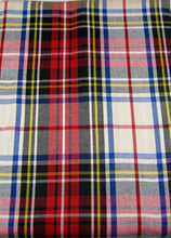 Load image into Gallery viewer, Lauren Ralph Lauren Gretchen Tartan Ivory 60 x 120 Inch Tablecloth