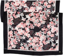 Load image into Gallery viewer, Calvin Klein Women's Diagnol Floral Chiffon Scarf, blush, one size