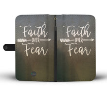 Funda Para Celular Faith Over Fear