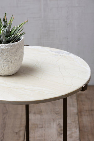 Mimouna Marble Top Cocktail Table