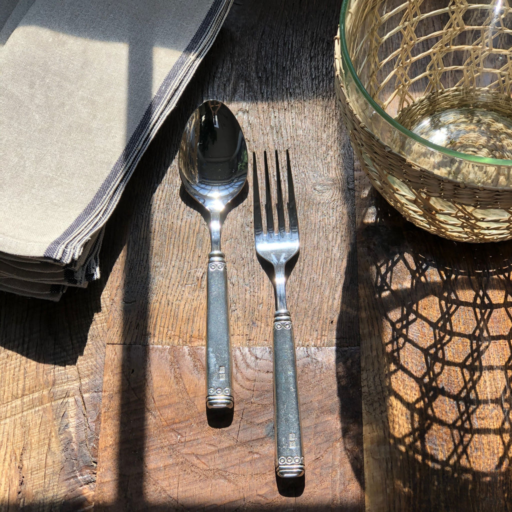 Falaride Serving Spoon & Fork Set