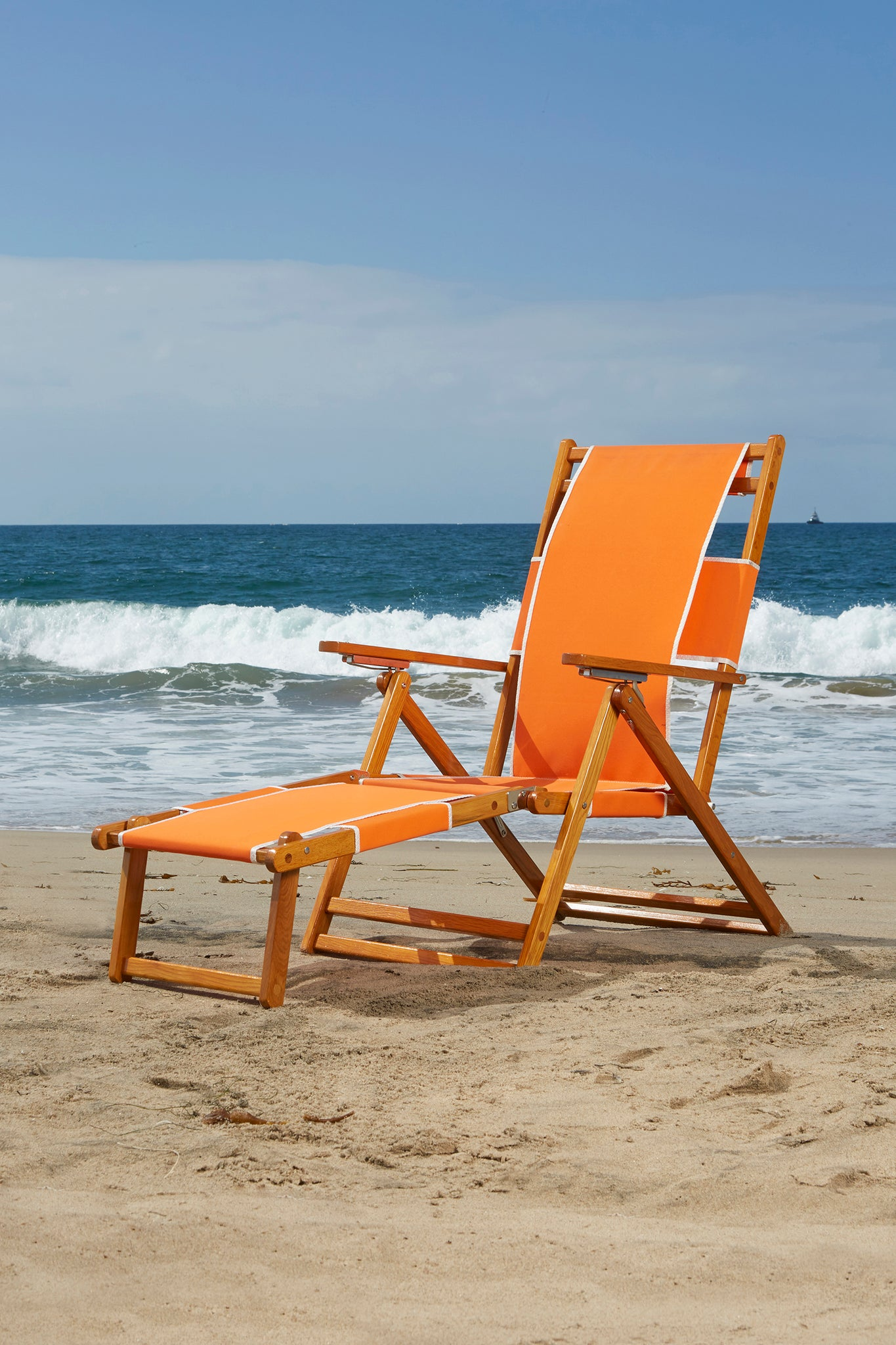 Orange Beach Chair