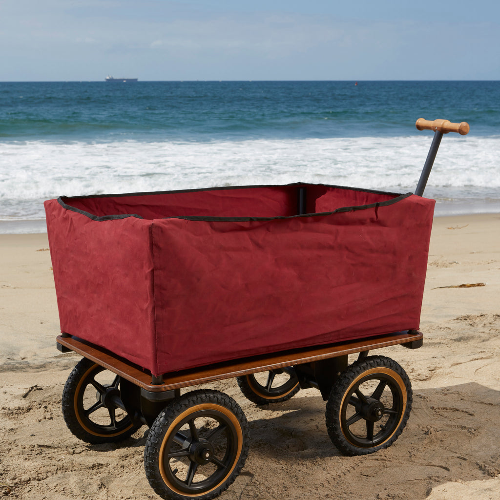 Red Beach Wagon