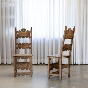 18th Century Italian Hall Chairs