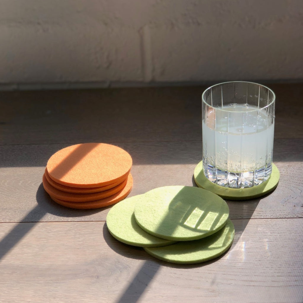 Pressed Wool Coasters
