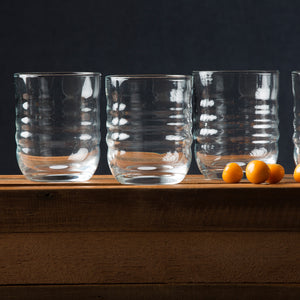 Spa Clear DOF Glass Set of 4