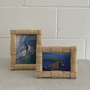 Abaca Rope Photo Frame