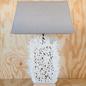 Tall Seafan Lamp